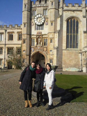 Visitando Cambridge Colleges